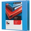 1-1/2in. Staples® Heavy-Duty View Binder with D-Rings, Light Blue