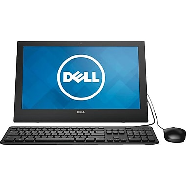"Dell, Inspiron All-in-One Desktop, 19.5"",  500GB 5400RPM SATA , 4GB DDR3L 1600MHz, Intel Celeron Processor N2830"