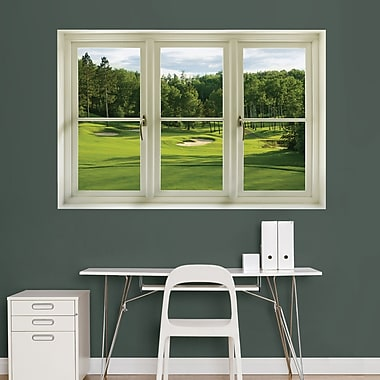 Spring Golf Tee Box Instant Window Wall Decal