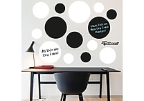 Black & White Dry Erase Message Dots By Fathead