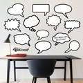 Fathead Dry Erase Thought Bubbles Wall Decal