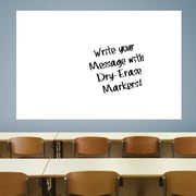 Jumbo White Dry Erase Board by Fathead