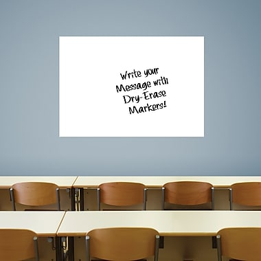 Fathead Large White Dry Erase Board