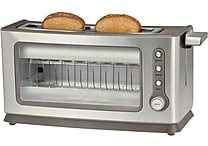 Kalorik Stainless Steel Glass Toaster