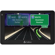 Cobra 5 Professional Driver Navigation GPS with Lifetime Map Updates