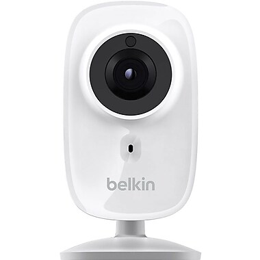 Belkin NetCam Wi-Fi HD+ Camera with Night Vision, Works with Belkin WeMo