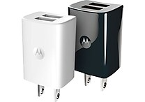 Motorola Duo Rapid Chargers 2/Pack, Black or White