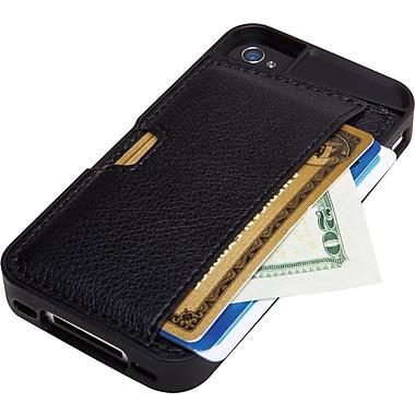 Q Card - Étui pour iPhone 4/4S, noir