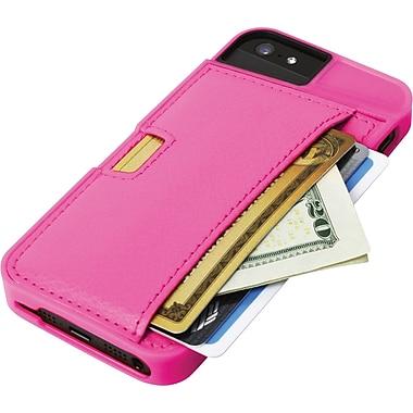 Q Card Case for iPhone 5/5S, Pink