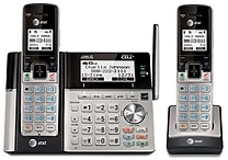 2 Handset Connect to Cell™ Answering System with Dual Caller ID