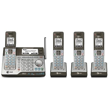 4 Handset Connect to Cell™ Answering System with Dual Caller ID