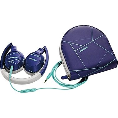 Bose® SoundTrue™ on-ear headphones, Purple/Mint