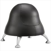 Safco® Runtz™ Ball Chair, Black Vinyl