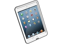 LifeProof® Nuud Cases For iPad Mini, White/Gray