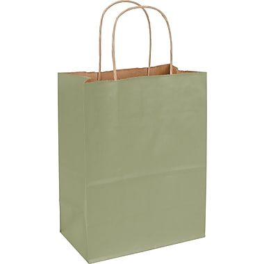 Varnish Stripe Shoppers, 8-1/4