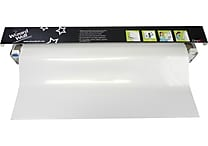 Wizard Wall Slide Cutting System with ClingZ Film Roll, 27-1/2' x 40 ft., White