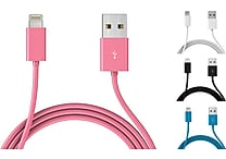 Mota Apple-Certified 6' iPhone 5 Lightning Cables, Assorted Colors