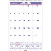 2015 AT-A-GLANCE® Monthly Wall Calendar, Eraseable, 15 1/2 x 22 3/4