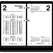 "2016 AT-A-GLANCE® Financial Desk Calendar Refill, 3 1/2"" x 6"", White, (S170-50)"