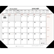 2015 AT-A-GLANCE® Two-Color Desk Pad, 22in. x 17in.