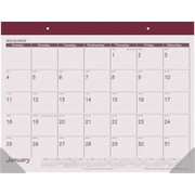 "2016 AT-A-GLANCE® Fashion Desk Pad, 22"" x 17"", Rose, (SK25-92)"