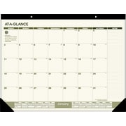 2015 AT-A-GLANCE® Desk Pad, Recycled, 22 x 17