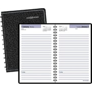"2016 DayMinder® Daily Appointment Book Planner, 4 7/8"" x 8"", Black, (SK46-00)"