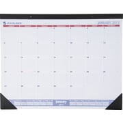 AT-A-GLANCE 2015 Recycled Desk Pad with Appointments Jan.-Dec., Desk Pad, 22 x 17
