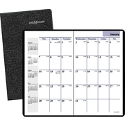 "2016 DayMinder® Monthly Planner, 3 5/8"" x 6 1/16"", Black, (SK53-00)"
