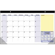 2015 AT-A-GLANCE® QuickNotes® Compact Desk Pad, 17 3/4 x 10 7/8