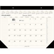 2015 AT-A-GLANCE® Executive Desk Pad, 22 x 17