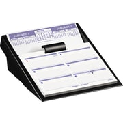 "2016 AT-A-GLANCE® Flip-A-Week® Desk Calendar and Base, 5 5/8"" x 7"", White/Blue, (SW700X-00)"