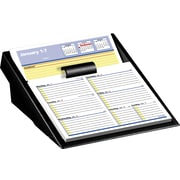 "2016 AT-A-GLANCE® Flip-A-Week® Desk Calendar Refill with QuickNotes® Format, 5 5/8"" x 7"", White/Blue, (SW706-50)"