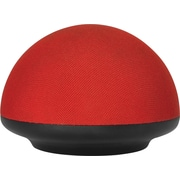 URGE Basics Soundome Bluetooth Wireless Speaker, Red/Black