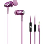 Brooklyn High Performance In-Ear Headphones with Built-In Microphone, Pink