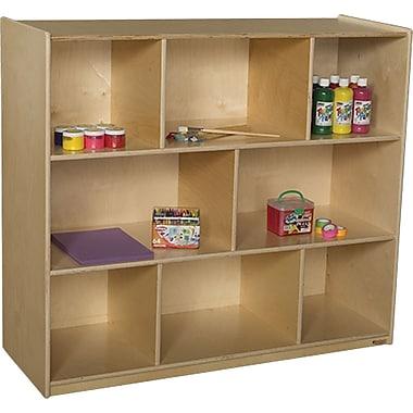 Wood Designs™ Storage 42in.H X-Deep 18in. Mobile Single Storage Unit, Birch