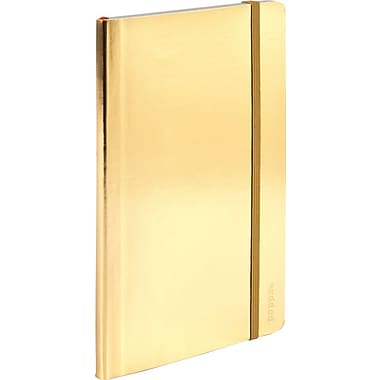Poppin Gold Medium Soft Cover Notebook