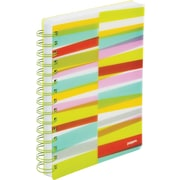 Poppin Lime Green Streamer Medium Spiral Notebook