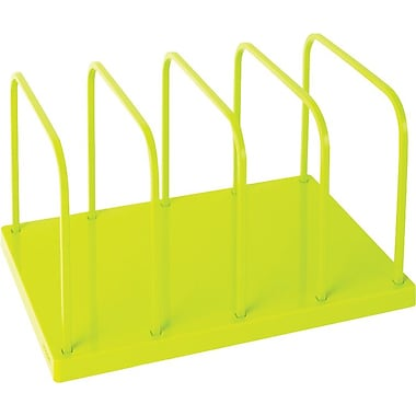 Poppin Lime Green File Sorter