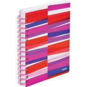 Poppin Pink Streamer Medium Spiral Notebook