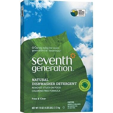 Seventh Generation Automatic Dishwashing Powder without Chlorine, 75 oz.