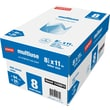Staples® Multiuse Copy Paper, 8 1/2in. x 11in., 8-Ream Case