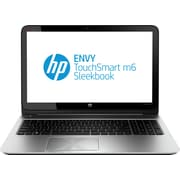 Refurbished HP ENVY TouchSmart m6-k022dx 15.6 Sleekbook, 750GB, 6GB Memory, AMD Elite Quad-Core, Win 8