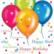 Creative Converting Birthday Balloons Rectangular Tablecover