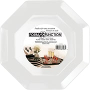 Creative Converting White Octagonal Luncheon Plates, 12/Pack