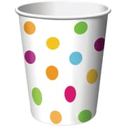 Creative Converting Happy Dots 9 oz. Hot/Cold Drink Cups, 8/Pack
