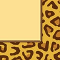 Creative Converting Leopard Print 3-Ply Luncheon Napkins, 16/Pack