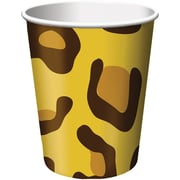 Creative Converting Leopard Hot/Cold Drink Cups, 8/Pack
