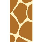 Creative Converting Giraffe Print 3-Ply Guest Napkins, 4.5 x 8, 16/Pack