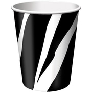 Creative Converting Zebra Hot/Cold Drink Cups, 8/Pack